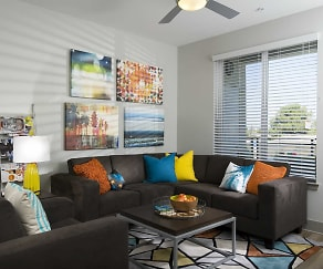 Living Room, BLVD63 - Lease by the Bedroom