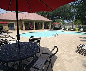 Pool, Cimarron Ridge Apartments