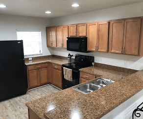 Kitchen, The Villages at Laurel Meadows