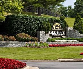Landscaping, Park Place Apartments