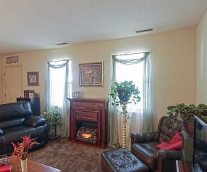 Living Room, Tiffany Lane Duplexes