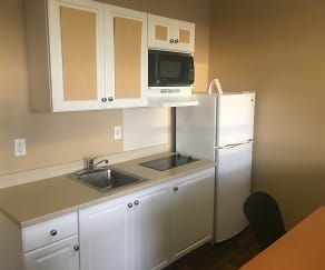 Kitchen, Furnished Studio - Anchorage - Downtown