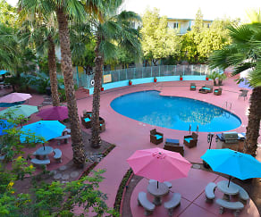 Pool, Sahara Apartments
