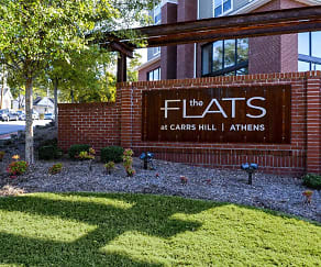 Community Signage, Flats at Carrs Hill