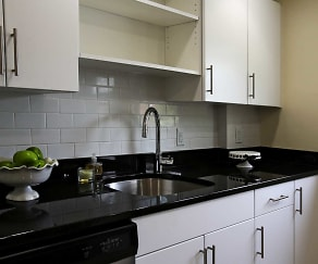 Kitchen, Garden City Apartments