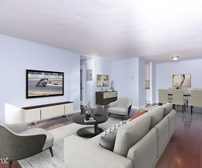 Living Room, 837 N West Knoll Dr Apt 220