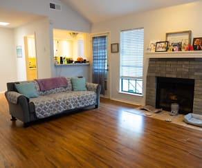 Living Room, 8801 Cainwood LN #B