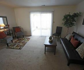 Living Room, Bradford Lake Apartments