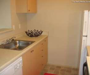 Kitchen, Camelot Apartments