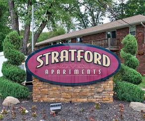 Community Signage, Stratford Apartments