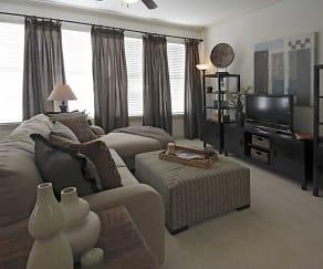 Living Room, Chenier Apartments