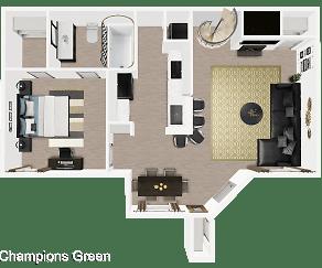 Champions Green, Champions Center, Houston, TX