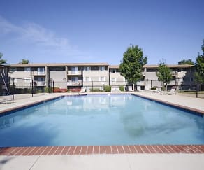 Pool, Pangea Parkwest Apartments