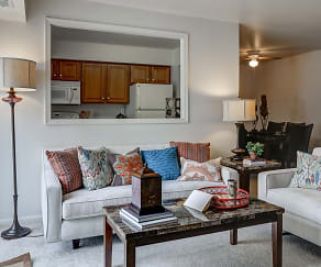 Living Room, Pioneer Woods