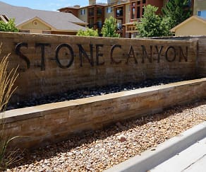 Community Signage, Stone Canyon