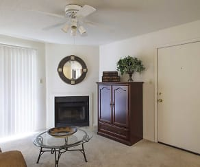 Living Room, Millicent Crossing Apartments