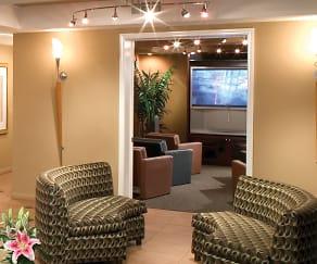 City Lights on Fig: Media Room, City Lights on Fig