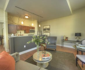 Living Room, 333 Penn Apartments