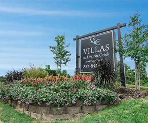 Community Signage, Villas at Lawson Creek