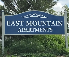 Community Signage, East Mountain Apartments