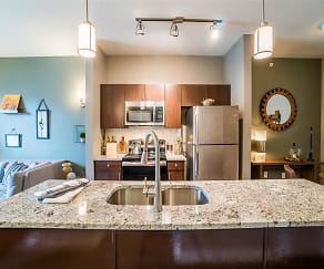 Open Layouts with Modern Finishes, Parkside at Firewheel Apartments