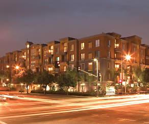 City Lights on Fig: Exterior at Night, City Lights on Fig