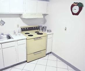 Kitchen, Remington Place Apartments