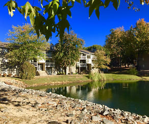 Lake, Brannon Park Apartments