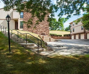 Building, Burr Oaks Village Apartments