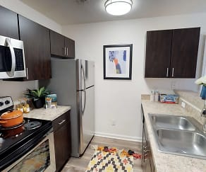 Kitchen, Carolina Creek - PER BED LEASE