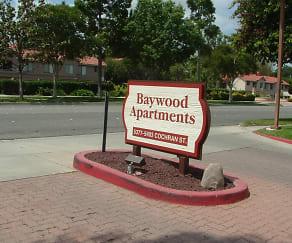 Community Signage, Baywood Apartments