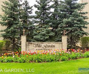 Community Signage, Villa Garden