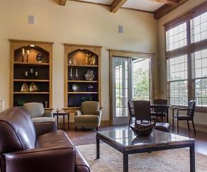 Clubhouse Lounge Area, Eagle Ridge Apartment Homes