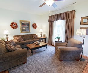 Living Room, Cottage Hill Townhomes