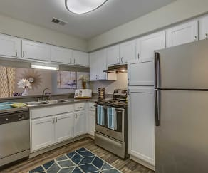 Kitchen, Spring Valley Apartments