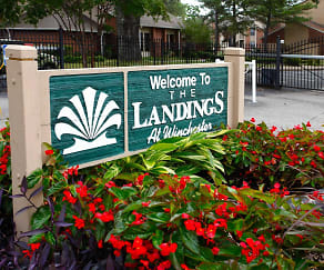 Exterior-Community Signage, The Landings