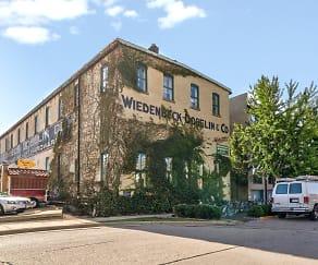 Building, Wiedenbeck Warehouse Apartments