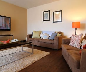 Living Room, Lions Gate Apartments