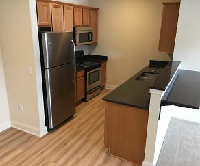Kitchen, The Residences at Clarkson