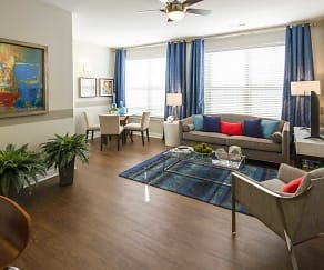 Living Room, Grandview Flats and Townhomes