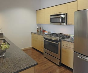 Kitchen, 306 West Apartments