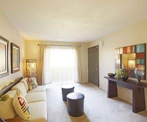 Living Room, Palm Crest At Station 40