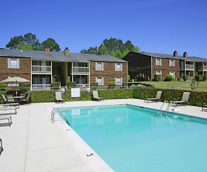 Pool, East Gate Apartments