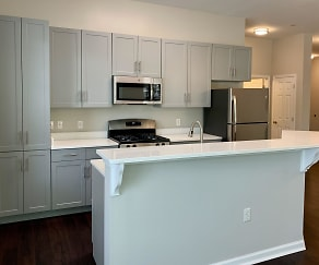 Kitchen, The Kentshire- Senior Living