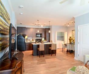 Living Room, Green Leaf Cottonwood