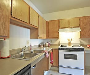 Kitchen, Park View At Beech Grove Apartments