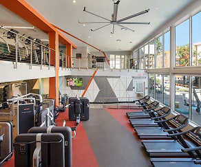 Phase I Two-Level Fitness Center, AVA Studio City