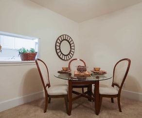 Dining Room, Bel Air Apartments
