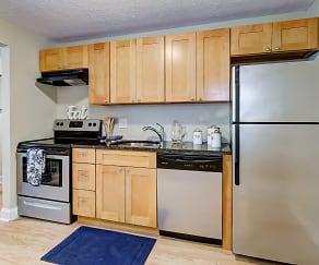 Kitchen, The Flats at Fox Hill