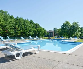 Pool, Avon Mill Apartments